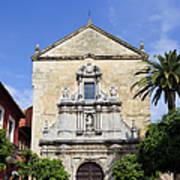 San Francisco Church In Cordoba Poster