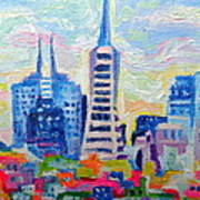 San Francisco Colors Poster