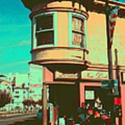 San Francisco 1968 Pop Art Poster