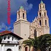 San Francisco Missio Dolores Poster