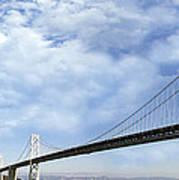 San Francisco Oakland Bay Bridge Poster