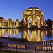 San Francisco Palace Of Fine Arts Theatre Poster