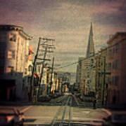 San Francisco Street Poster