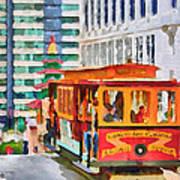 San Francisco Trams 6 Poster