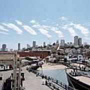San Francisco Waterfront Poster