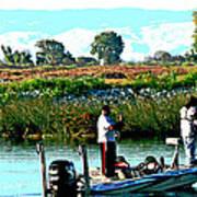 San Joaquin River Fish'n Poster
