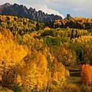 San Juan Mountains In Autumn Poster