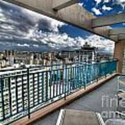 San Juan Puerto Rico Hdr Cityscape Poster by Amy Cicconi