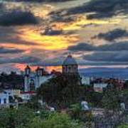 San Miguel De Allende Sunset Poster