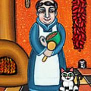 San Pascual And Felix Poster by Victoria De Almeida