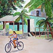 San Pedro Cafe Poster