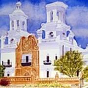 San Xavier Mission Poster