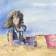 Sand Castle Dreams Poster