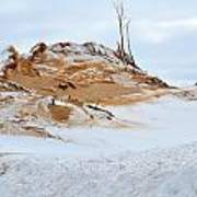 Sand Dune In Winter Poster