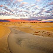 Sand Dune Sunrise Poster