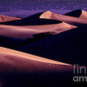 Sand Dunes At Sunrise Poster