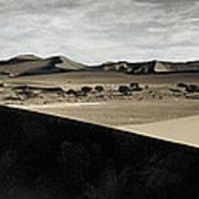 Sand Dunes In A Desert, Namib Desert Poster
