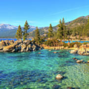 Sand Harbor State Park, Lake Tahoe Poster