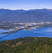 Sandpoint From Trail 3  -  110923-021 Poster