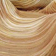 Sandstone Lines Poster
