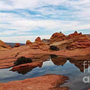 Sandstone Reflections 2 Poster