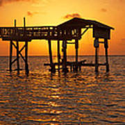 Sandy Bay Sunset Poster