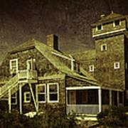 Sandy Hook Beach Home Poster
