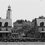 Sandy Hook New Jersey Lighthouse Poster