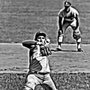 Sandy Koufax Painting Poster