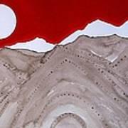 Sangre De Cristo Peaks Original Painting Poster