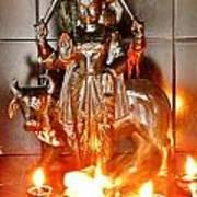Sani Murti - Temple To Saturn - India Poster
