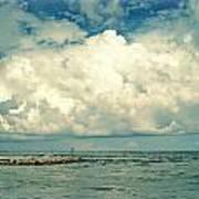 Sanibel Island Clouds Poster
