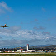 Santa Barbara Takeoff Poster