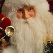 Santa Claus - Antique Ornament - 17 Poster by Jill Reger