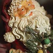 Santa Claus - Antique Ornament - 18 Poster