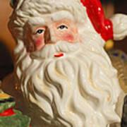 Santa Claus - Antique Ornament - 19 Poster by Jill Reger