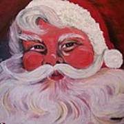 Santa Clause Painting By Sharon Duguay