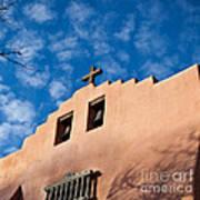 Santa Fe Church Poster
