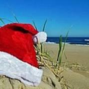 Santa Hat Dunes 1 12/17 Poster