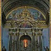 Santa Maria Church In Assisi Italy Poster