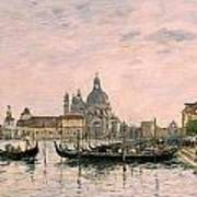 Santa Maria Della Salute And The Dogana Poster