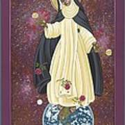 Santa Rosa Patroness Of The Americas 166 Poster
