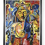 Santana Album Cover Poster