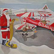 Santa's Airport Poster