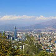 Santiago  Chile Poster