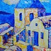 Santorini Afternoon Poster