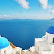 Santorini Island, Greece, Beautiful Poster