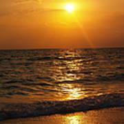 Sarasota Sunset Florida Poster