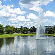 Saratoga Springs Resort Walt Disney World Poster