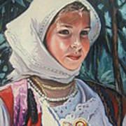 Sardinian Girl Poster